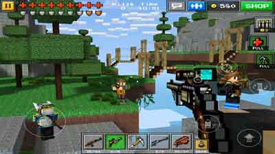 скачать игру pixel gun с бесконечными деньгами