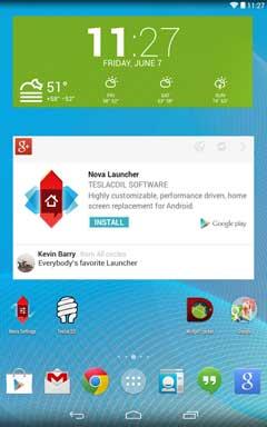 Nova Launcher Prime 0.2 скачать apk